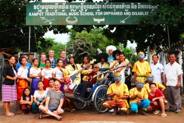 space project group shot cambodia